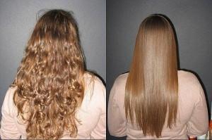 Кератиновое выпрямление волос со скидкой 20%