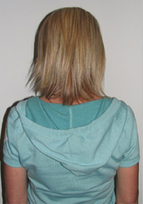 Наращивание волос в Калининграде фото до и после
