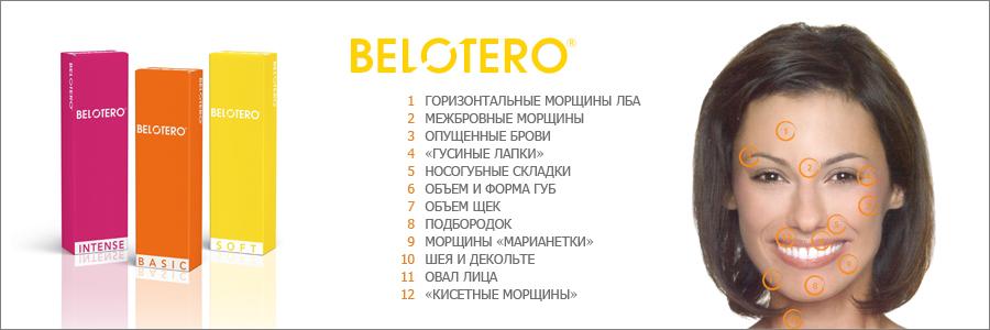 Филлеры Белотеро в Калининграде