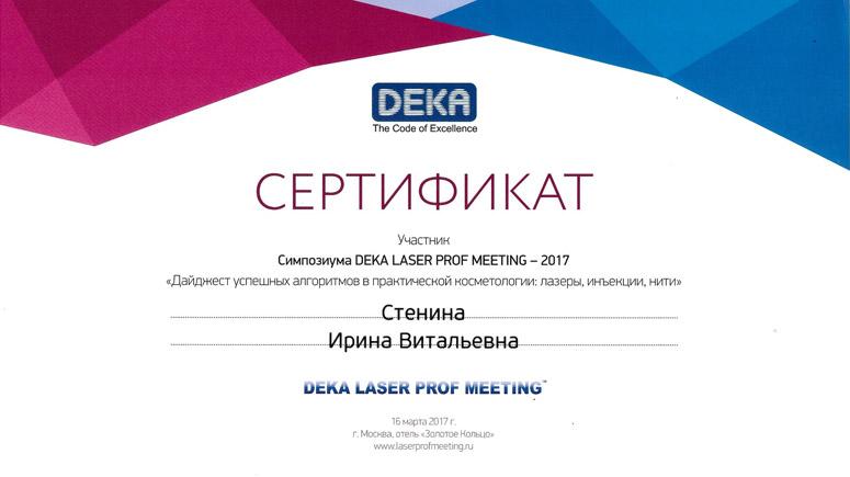 Ежегодный симпозиум DEKA LASER PROF MEETING